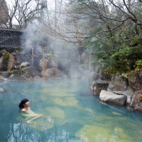 黒川温泉(露天風呂)